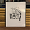 Thumbnail: Silk screen print of Downtown Watertown NY