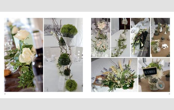 Book artiste floral