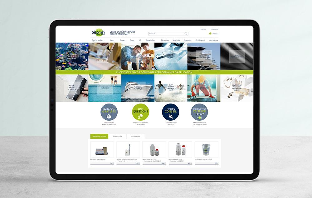 Web design de site e-commerce