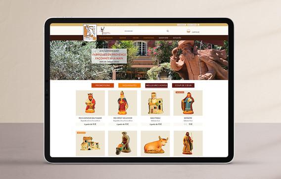 Web design de site e-commerce sur mesure