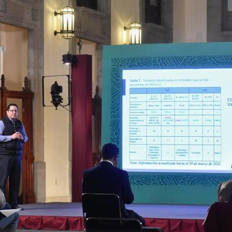 NO EXISTE CIRCULACIÓN IMPORTANTE DE VARIANTES DE SARS-COV-2 EN MÉXICO: ALOMIA