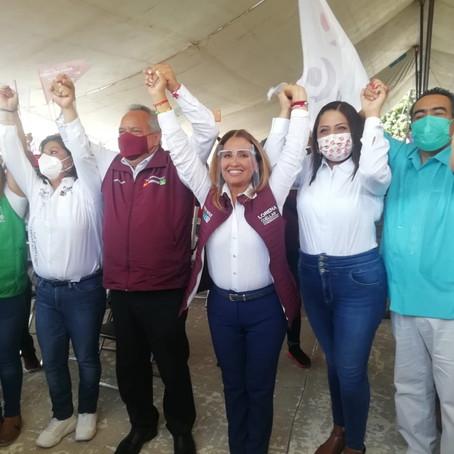 """""""ARRASAREMOS EN LAS URNAS"""": CUÉLLAR A CANDIDATOS LOS CANDIDATOS"""
