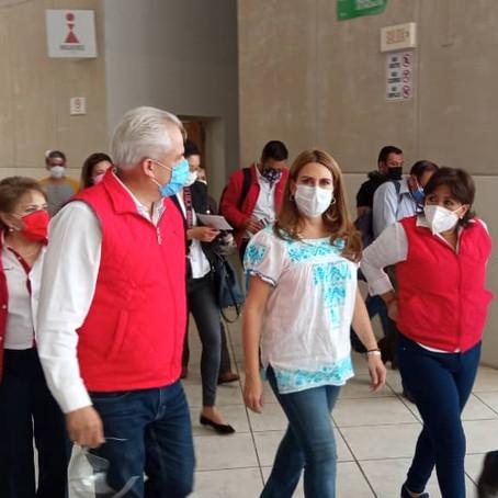 """NO ESTAMOS CONTRA AMLO SINO CONTRA MORENA, PACTO MENA-AMLO FORMALIZA RESPETO A ELECCIÓN"": VIGGIANO"