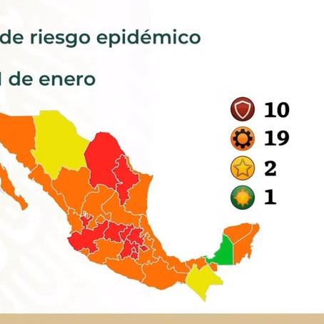 TLAXCALA JUNTO A 10 ENTIDADES CON RIESGO MÁXIMO COVID-19 INFORMA CORTÉS ALCALÁ