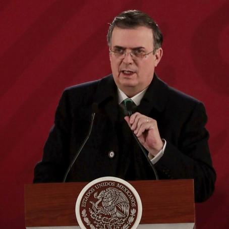 GOBIERNO MEXICANO CONSERVARÁ POLÍTICA DE NO INTERVENCIÓN ANTE LO ACONTECIDO CON VENEZUELA; EBRARD