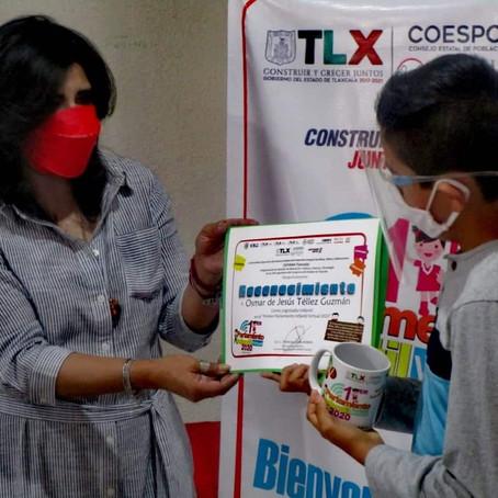 RECONOCE SIPINNA-TLAXCALA A PARTICIPANTES DEL PRIMER PARLAMENTO INFANTIL VIRTUAL 2020