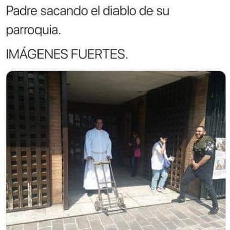 IMÁGENES FUERTES DE UN EXORCISMO