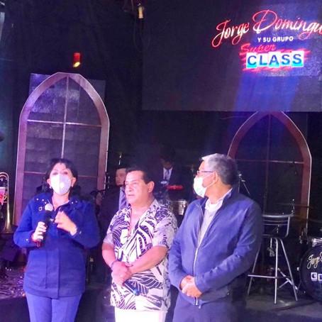 EXITOSO CONCIERTO DE JORGE DOMÍNGUEZ EN EL 495 ANIVERSARIO DE LA CIUDAD DE TLAXCALA