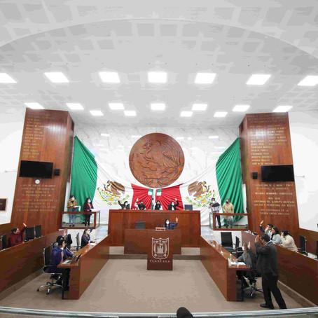 VALIDA CONGRESO DE TLAXCALA 6 LEYES DE INGRESOS MUNICIPALES PARA EL 2021