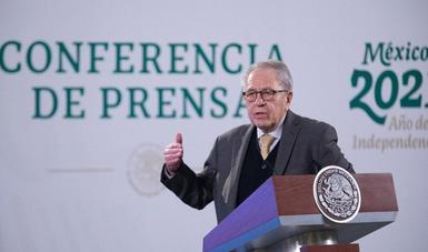 RECIBE GOBIERNO DE MÉXICO NUEVO EMBARQUE CON MÁS DE 850 MIL VACUNAS CONTRA COVID-19