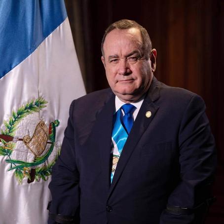 VISITA DE TRABAJO DEL PRESIDENTE DE LA REPÚBLICA DE GUATEMALA, ALEJANDRO GIAMMATTEI