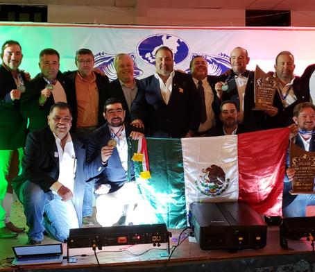 """CONQUISTA NUESTRO PAÍS DOS PRESEAS DE PLATA EN EL """"CAMPEONATO MUNDIAL DE PESCA DE LOBINA MÉXICO 2018"""