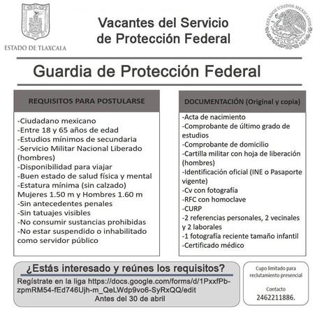 SEPOL-SEPUEDE MANTIENE VIGENTE PROCESO PARA RECLUTAR POLICÍAS Y GUARDIAS DE PROTECCIÓN FEDERAL