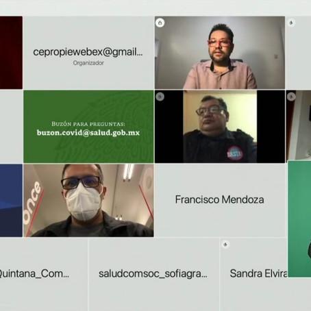 VARIANTE DE COVID-19 CON ORIGEN EN LA INDIA DETECTADA EN MÉXICO NO REPRESENTA PREOCUPACIÓN