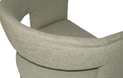 Sillón moderno tapizado