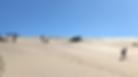 Sandboard en Puerto Piramides