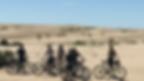 mountain bike en Puerto Piramides