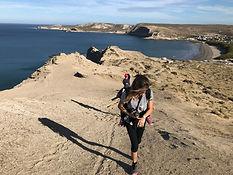 trekking en Puerto Piramides