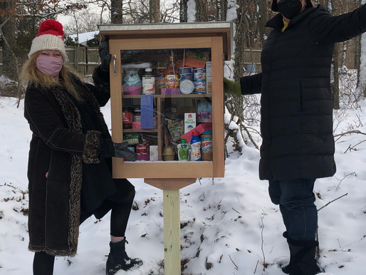 OUR LITTLE FREE FOOD PANTRY