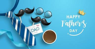 happy-father-s-day-background-or-banner-with-realistic-elements-free-vector.jpeg