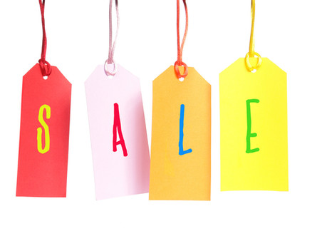 Spring Time = Sale Time!