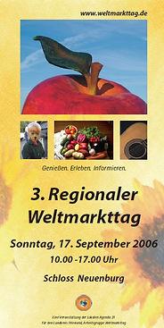 Plakat Weltmarkttag