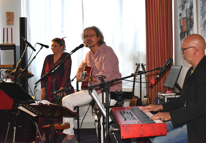 Gent, Bea & der Mann am Klavier, 9. Juli 2021