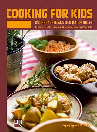 Das Titelbild des Kochbuchs der meracon gGmbH