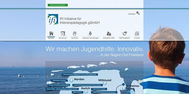 Webseite IFI gGmbH