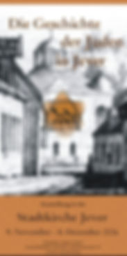 Plakat Geschichte der Juden