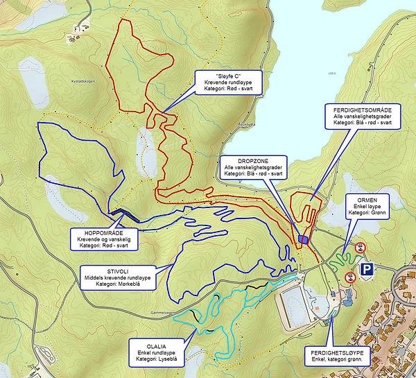 terrengsykling MTB Nilsbyen
