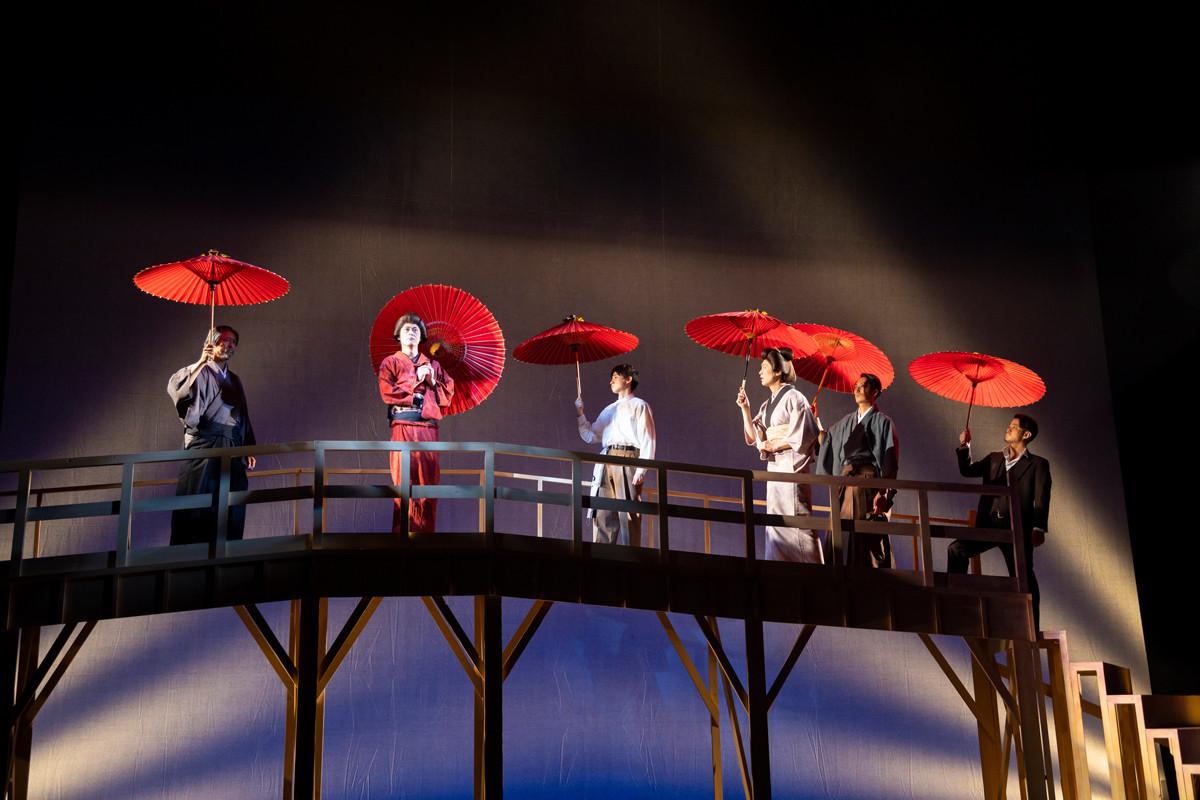 『渡りきらぬ橋』の舞台