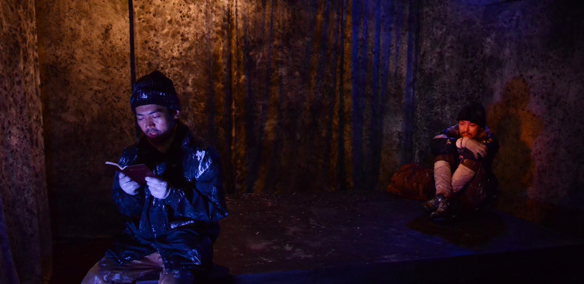 温泉ドラゴン「山の声」舞台写真5
