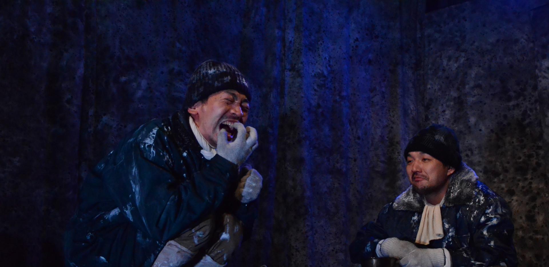 温泉ドラゴン「山の声」舞台写真1