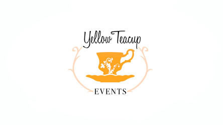 Yellow Teacup Events logo & promo video