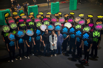 RTX SYDNEY 2016: Immersion - Space Invaders In Real Life