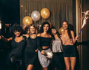 Foto de grupo en una fiesta
