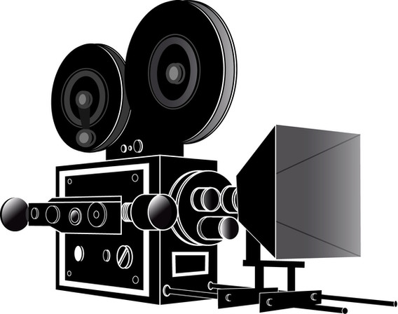 Vintage movie camera 1