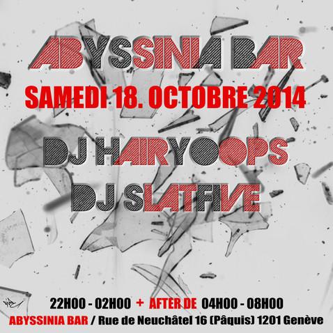 Flyer Abyssinia Bar