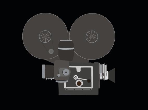 Vintage movie camera 2