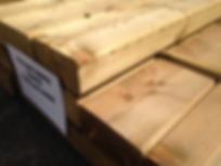 Smooth Railway sleepers
