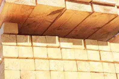 sawn regularised softwood