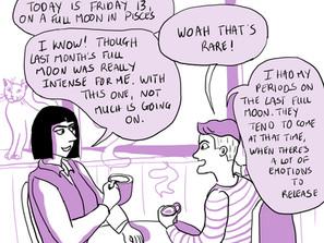 Weekly comics: astro social circles
