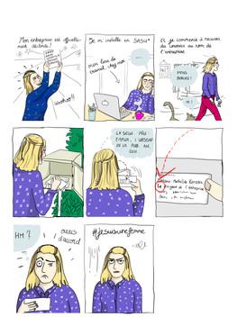 Comics strip #jesuisunefemme