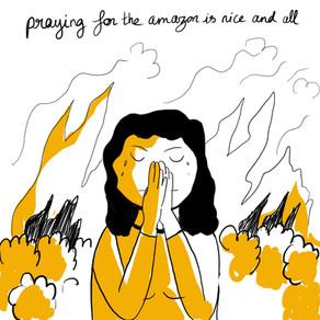 Praying for the amazon