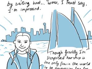 Weekly comics: Greta Thunberg