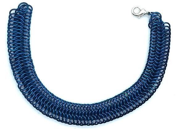 Enameled Copper Bracelet