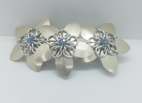 Beads and Scales Barrette