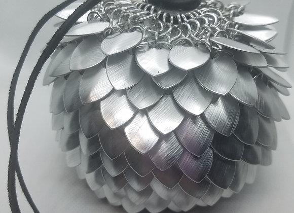 Silver Scale Bag