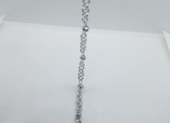 Silver Hair Chain